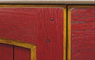ξύλινη πόρτα κλασική παλαιωμένη